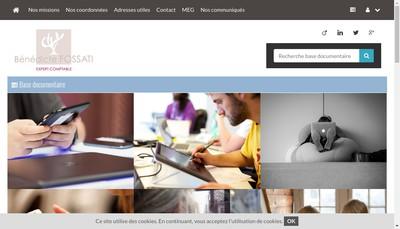 Site internet de Benedicte Fossati