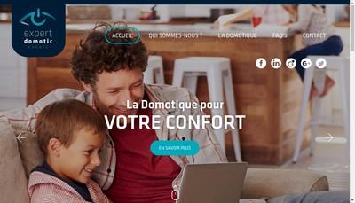 Site internet de Expert Domotic