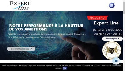 Site internet de Expert Line
