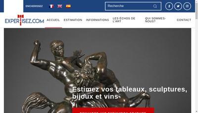 Site internet de Expertisez SAS