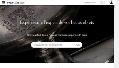 Site internet de Expertissim