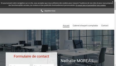 Site internet de Nathalie Moreau