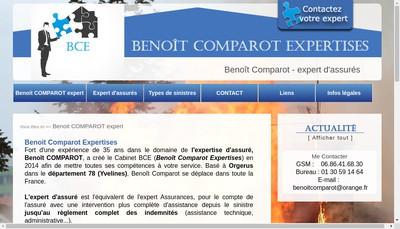 Site internet de Benoit Comparot Expertises