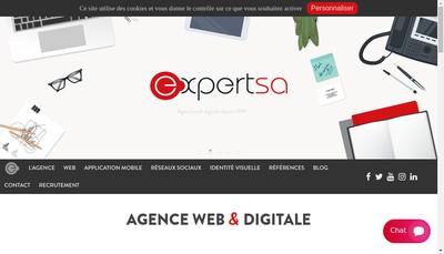 Site internet de Expert SA