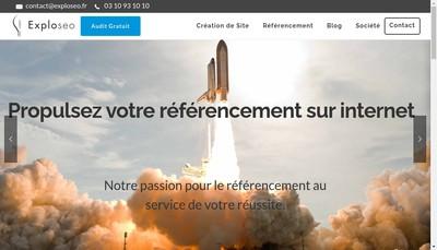 Site internet de Exploseo