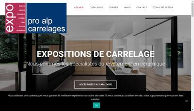 Site internet de Terrier Carrelages