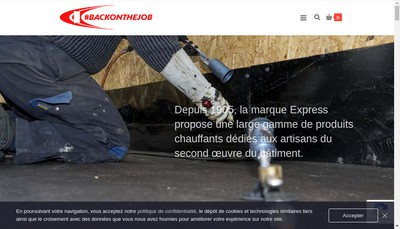 Site internet de Express