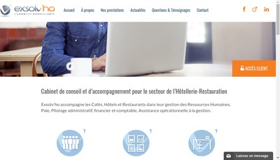 Site internet de Exsolv'Ho