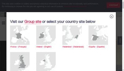 Site internet de Viacom Outdoor Giraudy Viacom
