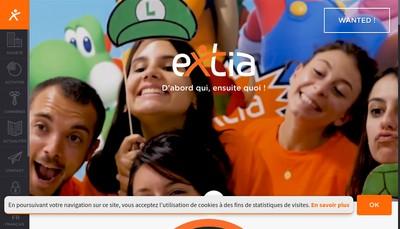 Site internet de Extia