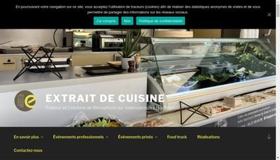 Site internet de Extrait de Cuisine
