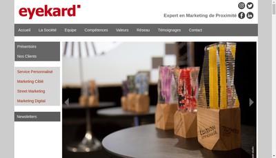 Site internet de Eyekard