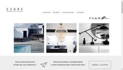 Site internet de Ezare Immobilier