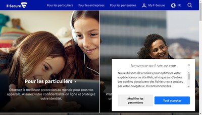 Site internet de F-Secure SARL