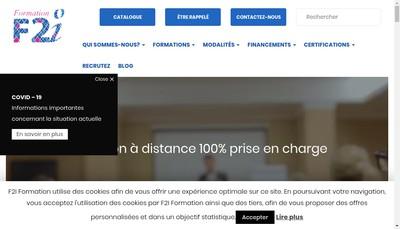 Site internet de Institut Europeen Formation-21 Team Form