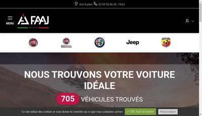 Site internet de Faaj