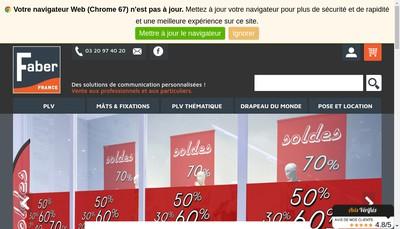 Site internet de Faber France