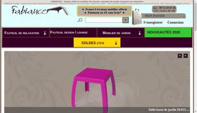 Site internet de Fabiance - Stenior