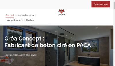 Site internet de Crea-Concept