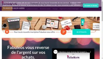 Site internet de Fabuleos