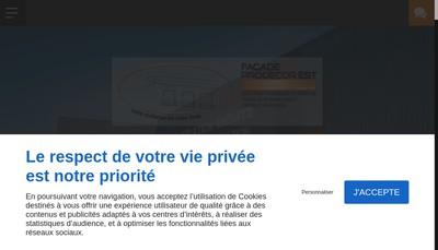 Site internet de Facade Prodecor Est