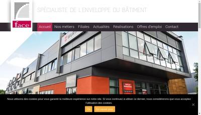 Site internet de Face Alsace