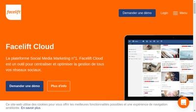Site internet de Facelift France