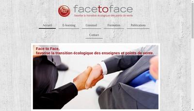 Site internet de Face To Face France