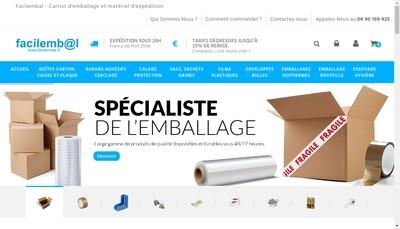 Site internet de Facilembal