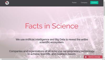 Site internet de Facten