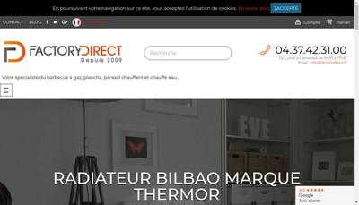 Site internet de Factorydirect.fr