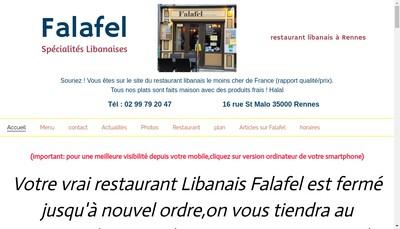 Site internet de Falafel