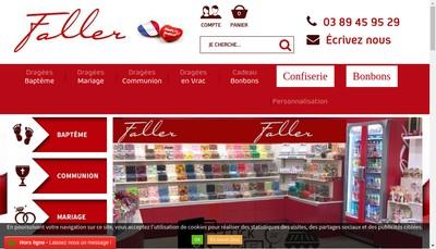 Site internet de Faller