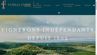 Site internet de Famille Fabre