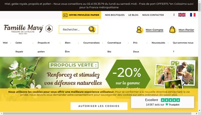 Site internet de Famille Mary Ruche Beau Rivage