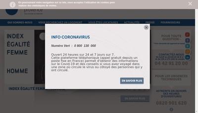 Site internet de Famille et Provence