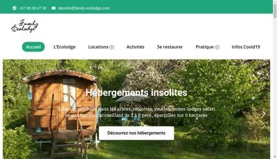 Site internet de La Borde Ecolodge