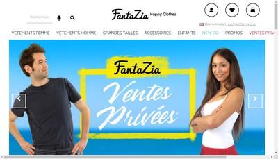 Site internet de Fantazia