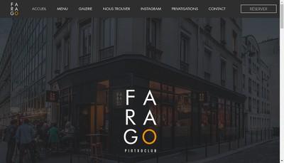Site internet de Farago Pintxo Club