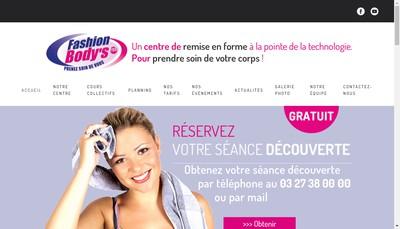 Site internet de Fashion Body'S