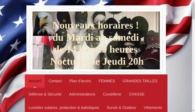 Site internet de Fashion Kaki