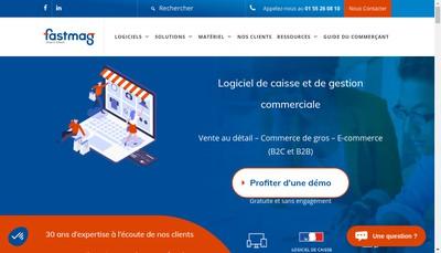 Site internet de Fastmag