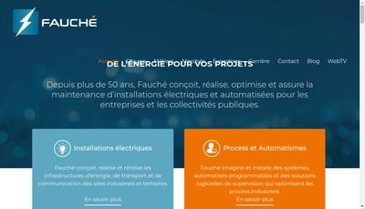 Site internet de Fauche Pays de Loire