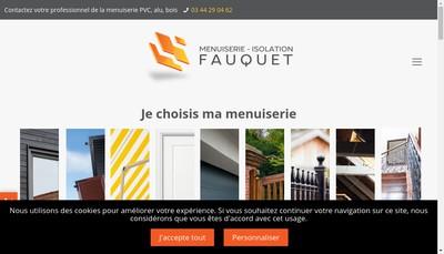 Site internet de Societe Fauquet