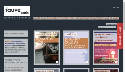 Site internet de Fauveparis