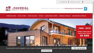 Site internet de Etablissements Faverial