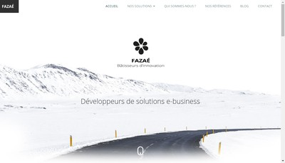 Site internet de Fazae