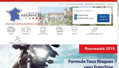 Site internet de Chinon Assurances Conseils