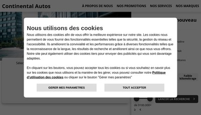 Site internet de Expert Occasions