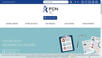 Site internet de Fcn